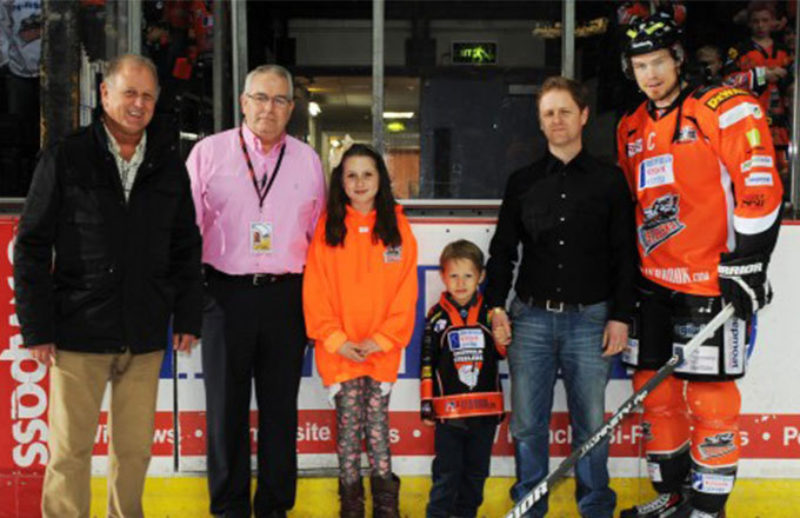 Title sponsorship of Sheffield Steelers for 2014/15 season