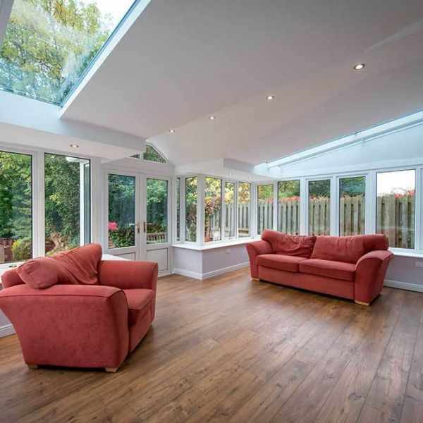 Conservatory upgrade with a Livin Roof