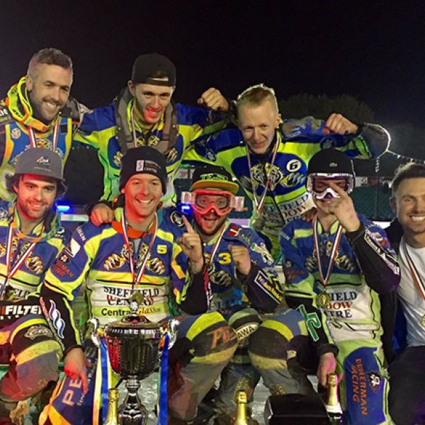Continued sponsorship of Sheffield Tigers Speedway defending champions!