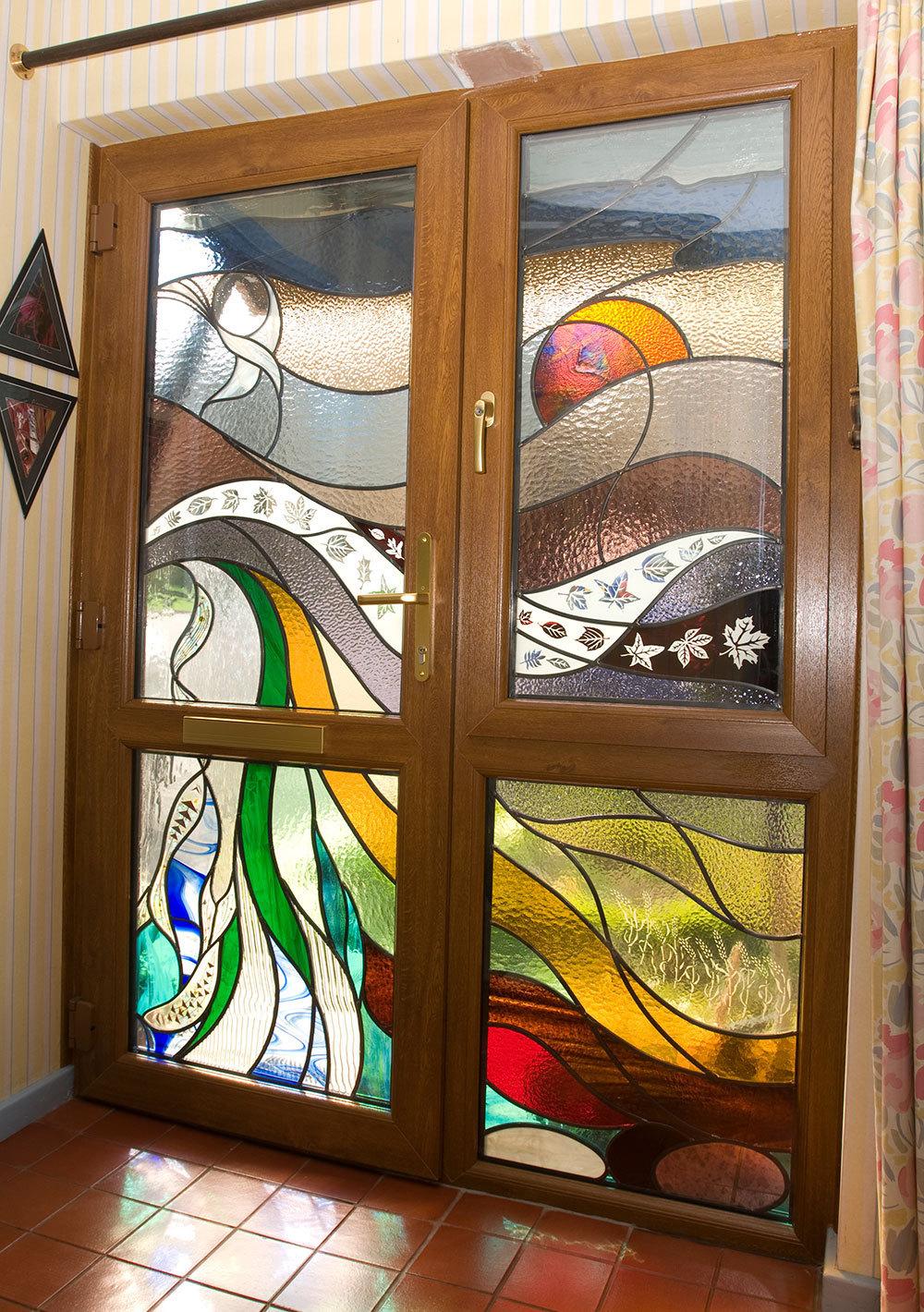 Stained Glass Sheffield Window Centre Upvc Windows